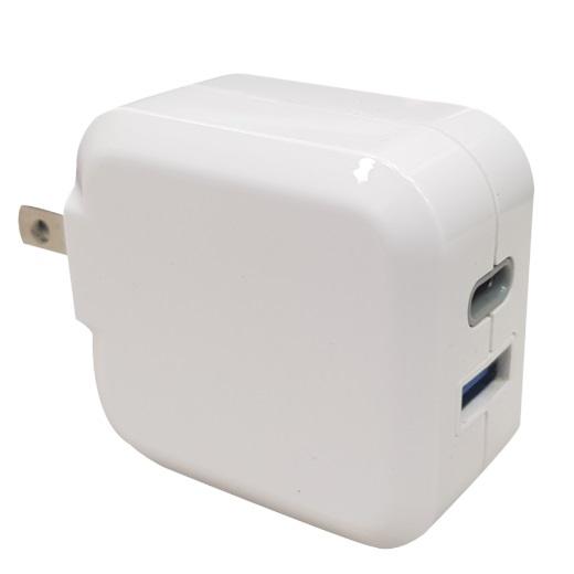 20W FAST Charger - BSMI PSE USB-C 20W / USB-A QC18W 1